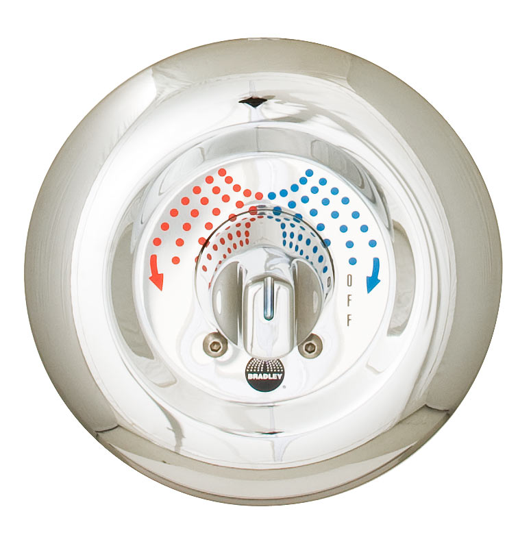ligature resistant sr shower valve
