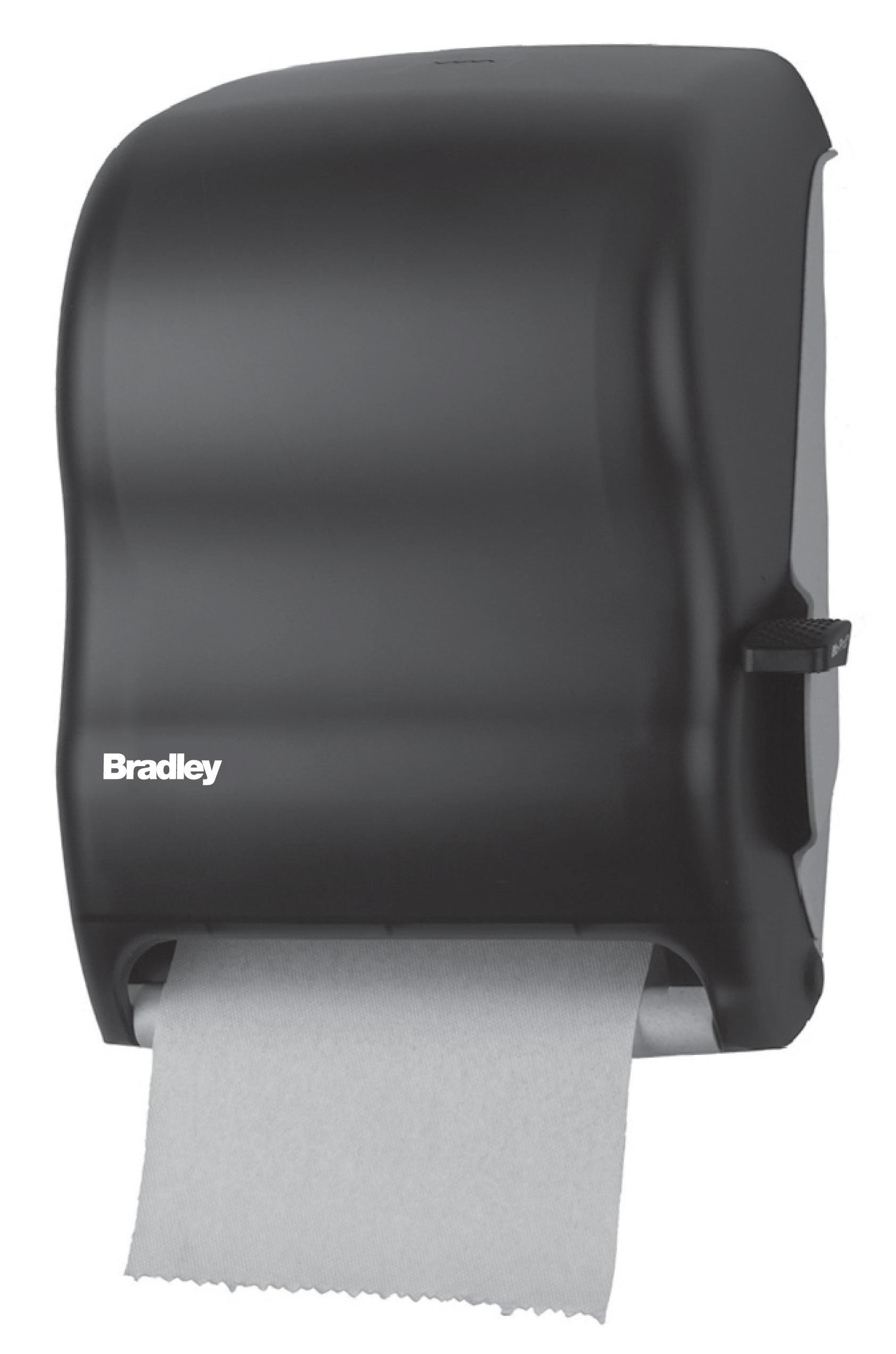 lever operated roll towel dispenser - Bradley Bathroom Accessories