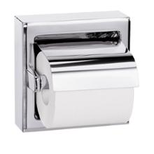 Hinged Hood Single Roll Toilet Tissue Dispenser - Model 5106