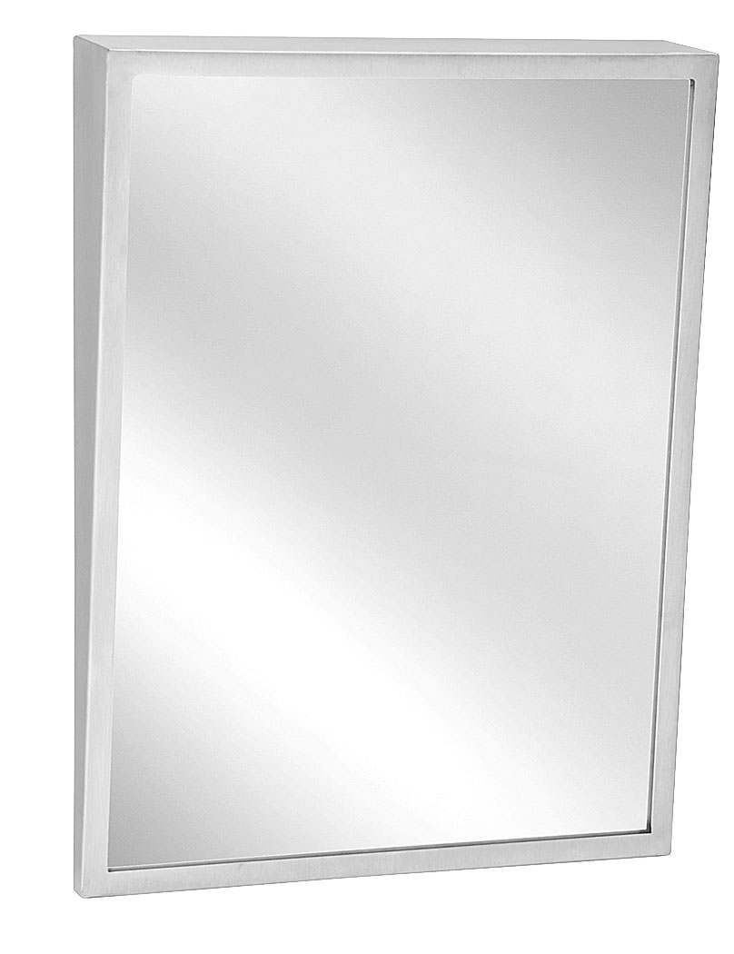 Bathroom Tilt Mirrors Fixed Tilt Mirror Bradley Corporation