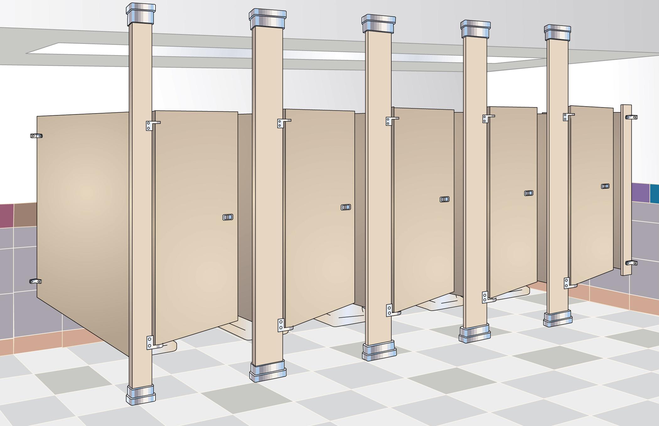 Pisos Para Baños Publicos:Commercial Bathroom Stall Partitions