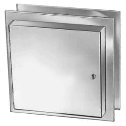 Satin Finish Stainless Steel Specimen Pass-Thru Cabinet - Model 9813