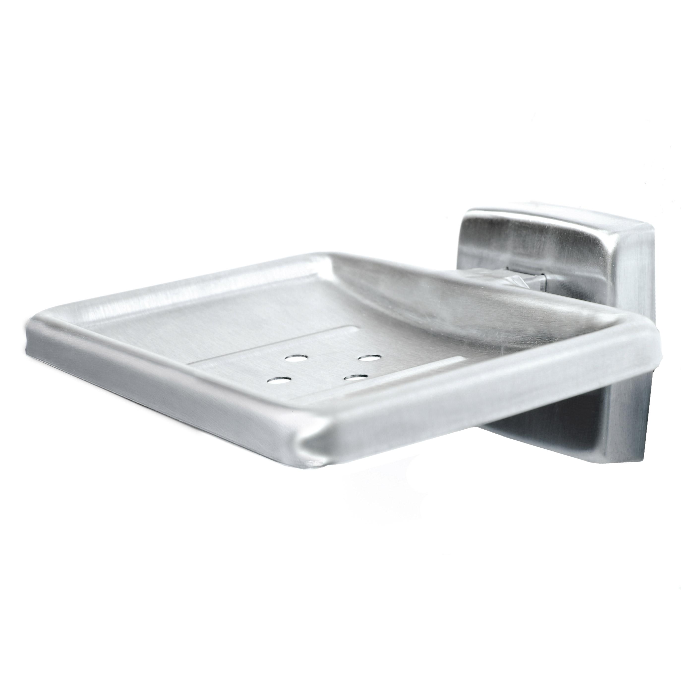 Jabonera de acero inoxidable montada en superficie for Jabonera acero inoxidable