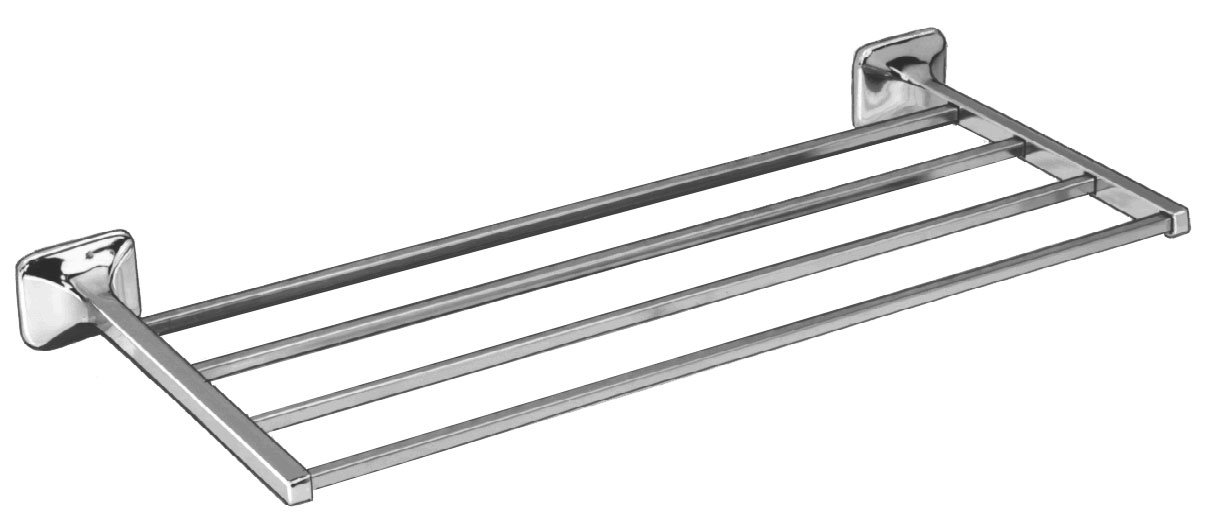 Chrome Plated Towel Shelf - Bradley Corporation