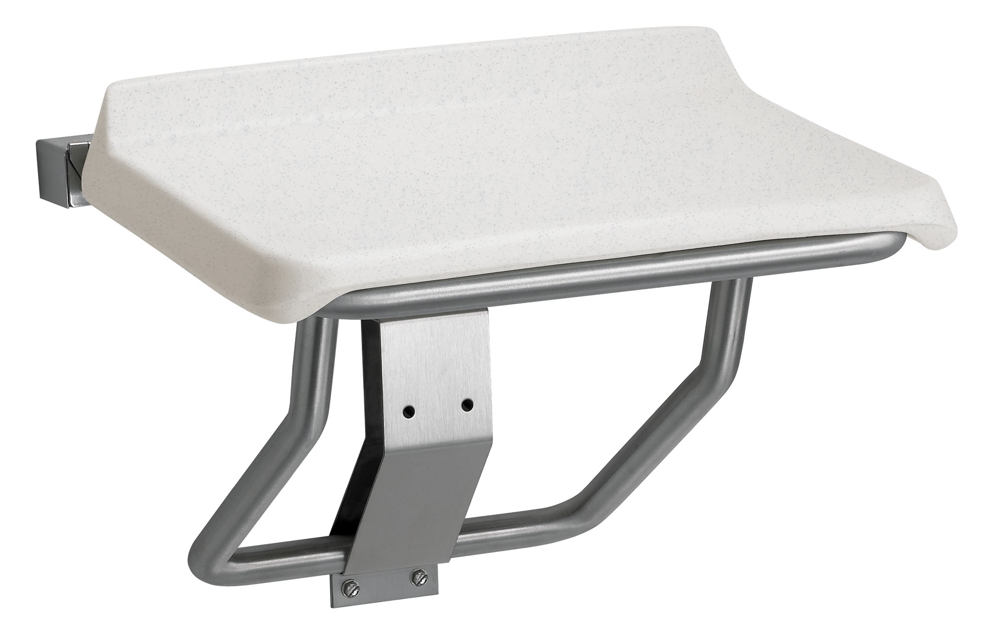 Antimicrobial Molded Plastic Folding Shower Seat - Bradley Corporation