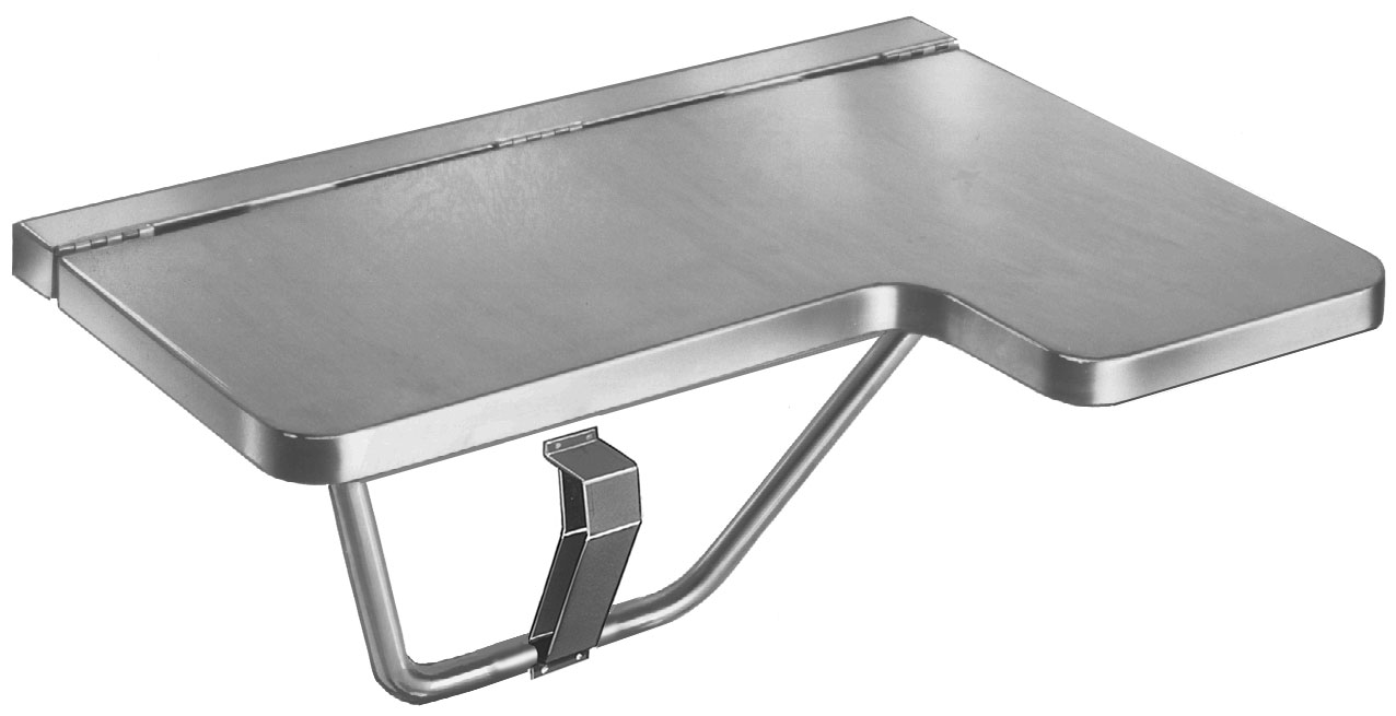 stainless steel shower seat