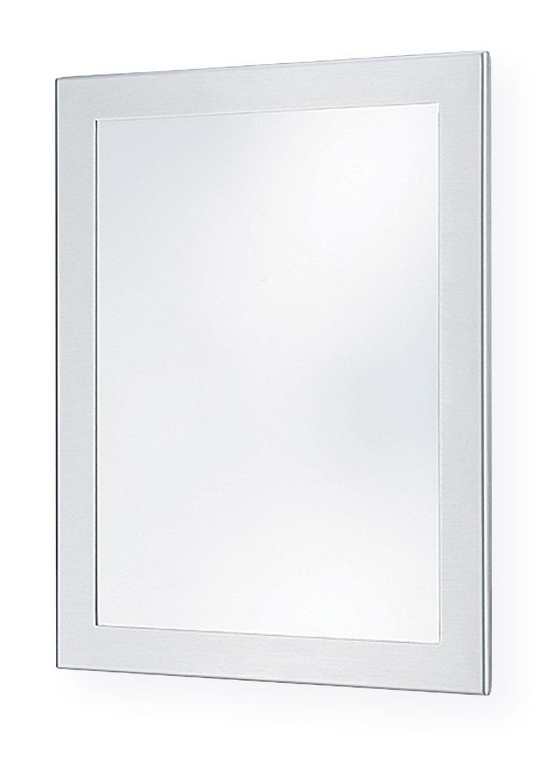Framed wall mirror bradley corporation for Bradley mirror