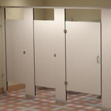 Phenolic partitions cubicles