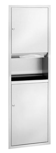Standard Series Towel Dispenser and Waste