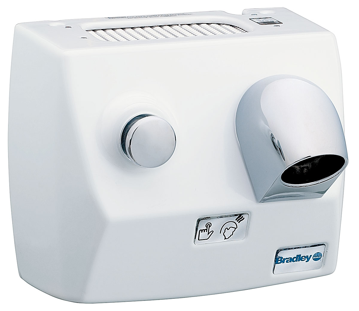 Surface Mounted Hand/Hair Dryer - Bradley Corporation