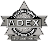 ADEX Platinum Award for Design Excellence 2013 Logo