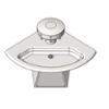 BIM model of a 3-station corner wall mounted stainless steel Sentry washfountain - Model SN2033