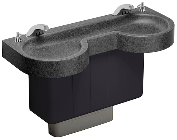 Bradley Commercial Sinks : handwashing sink EXD-Series Express Lavatory System - Model EXD-2N