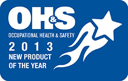 Occupational Health and Safety 2013 New Product of the Year logo