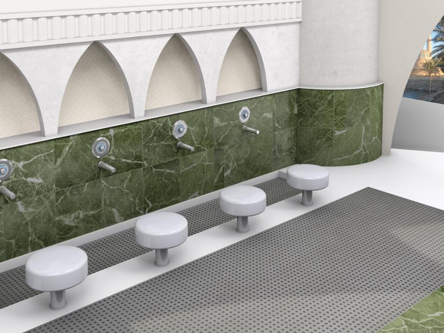 Washroom Taps : Ablution Tap - Bradley Corporation