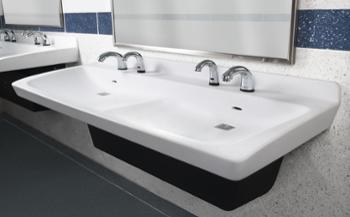 Bathroom Sinks Commercial bradley commercial sinks - bradley corporation