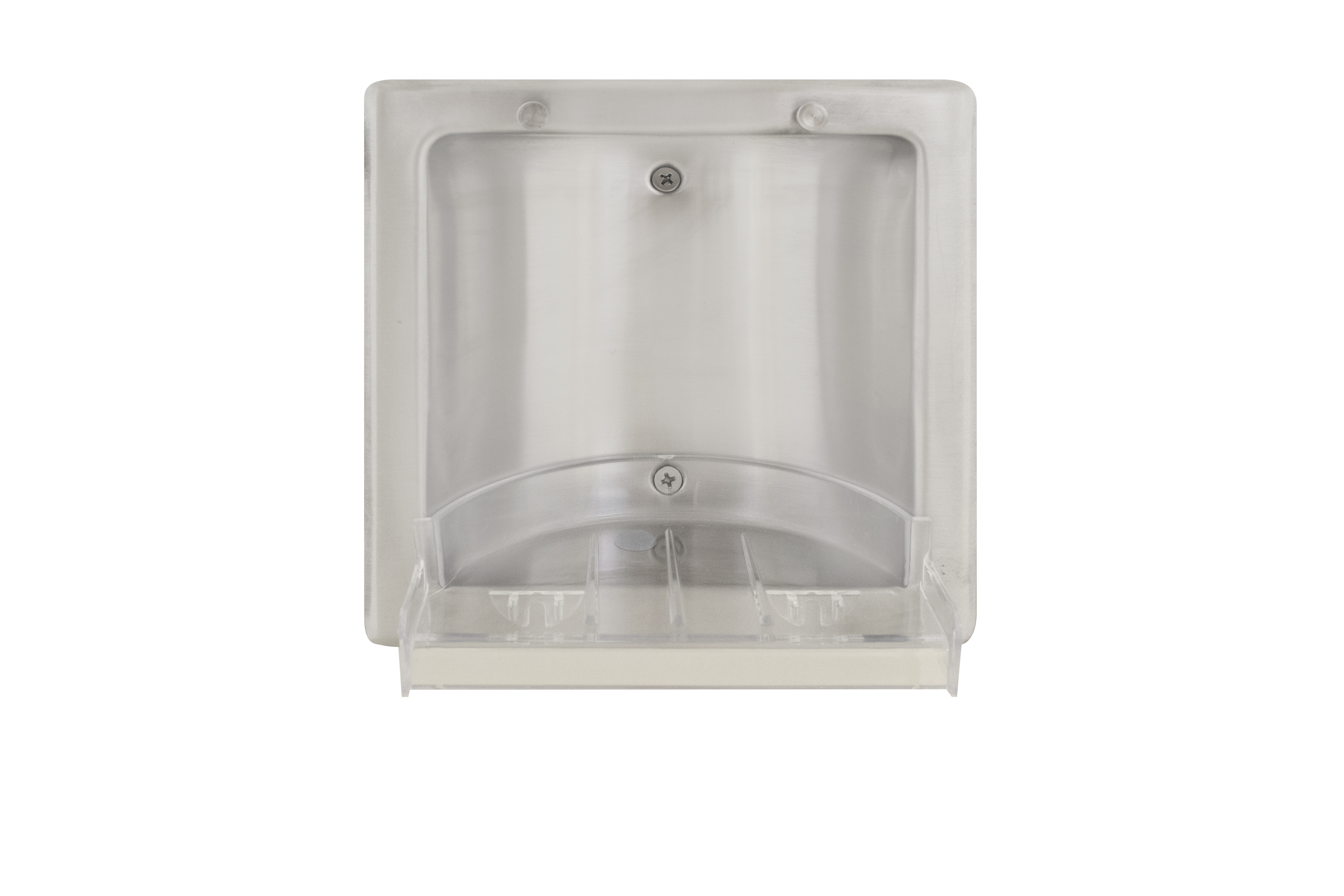 specialty bradley corporation dish accessories dishes mounted steel stainless hospitality surface shower soap