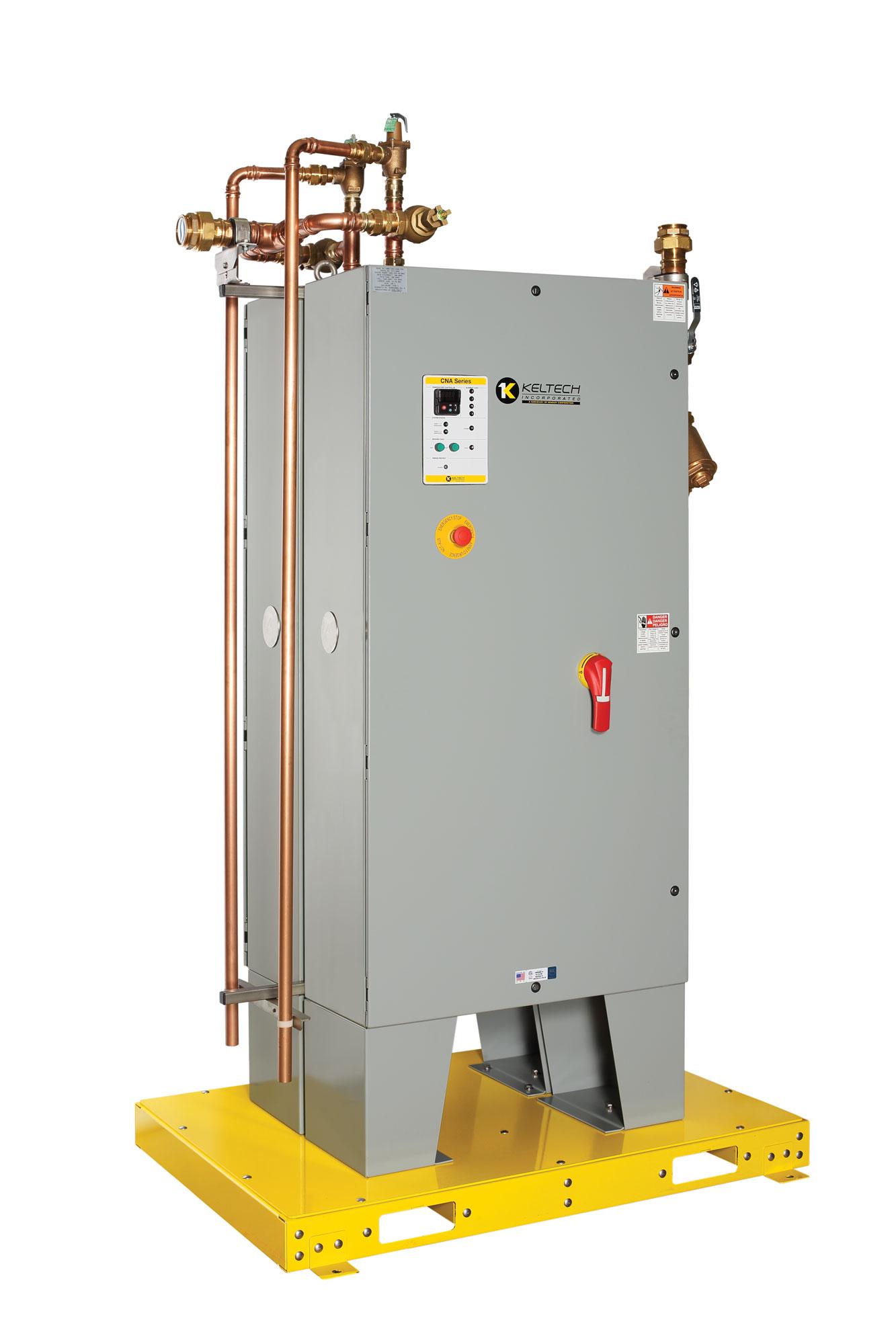 Keltech Industrial Water Heating Skid Bradley Corporation