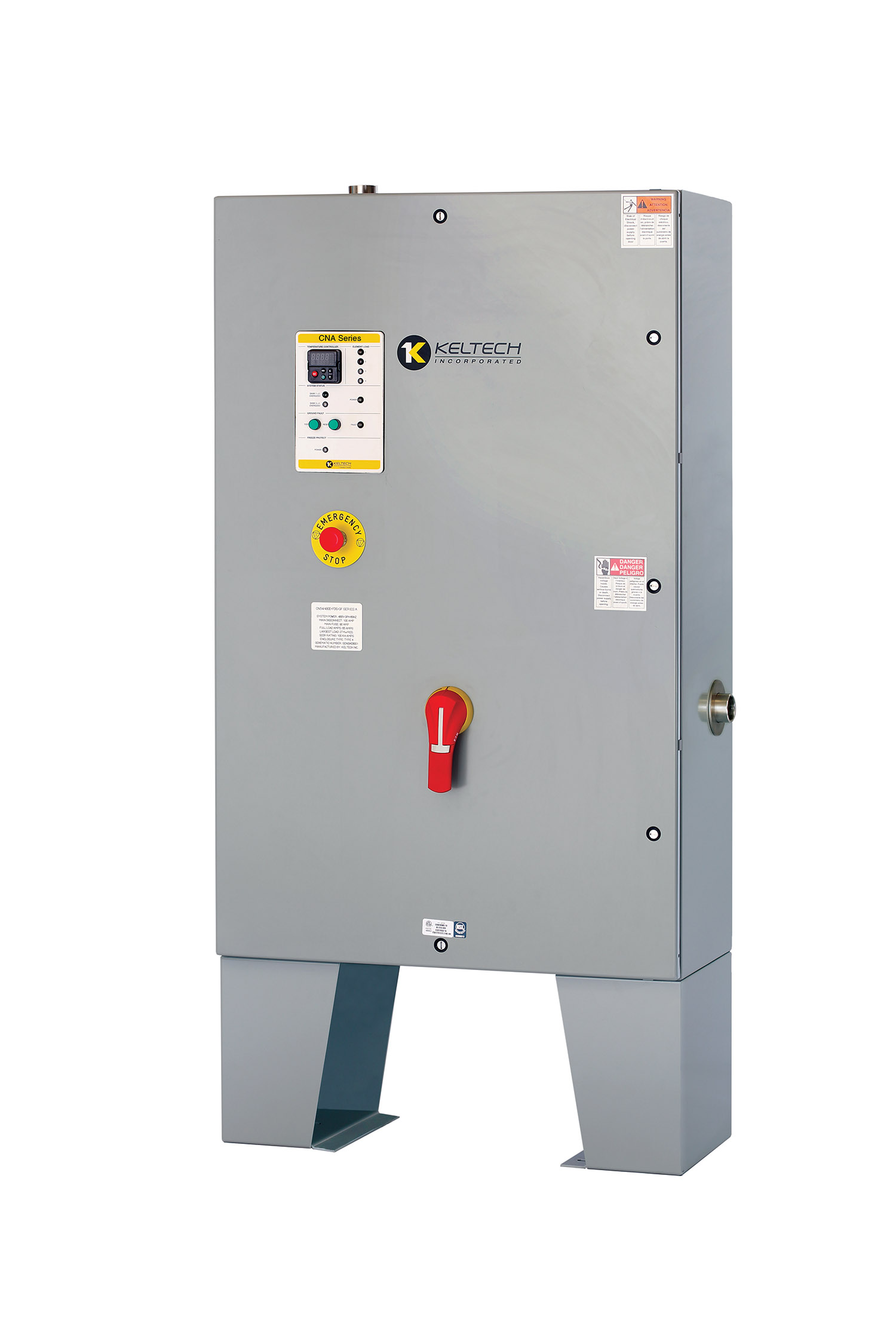 large industrial tankless water heater