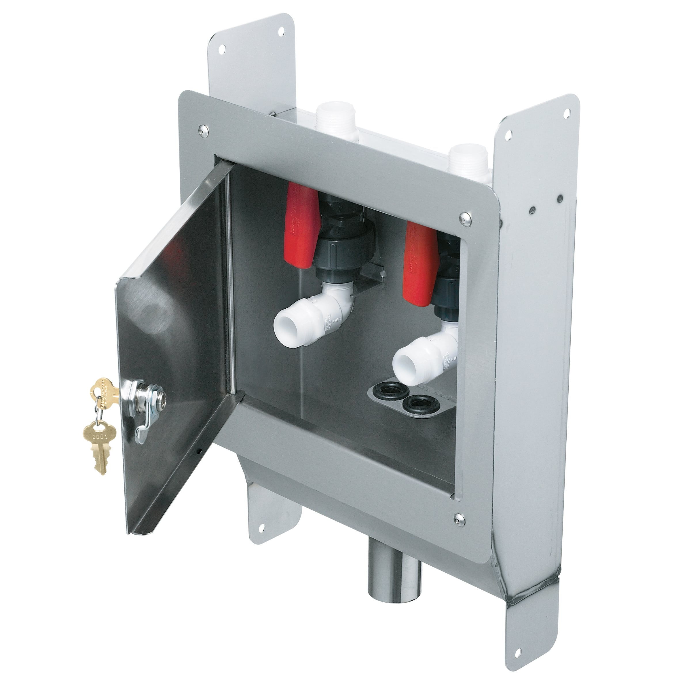Recessed Dialysis Box With Door Bradley Corporation