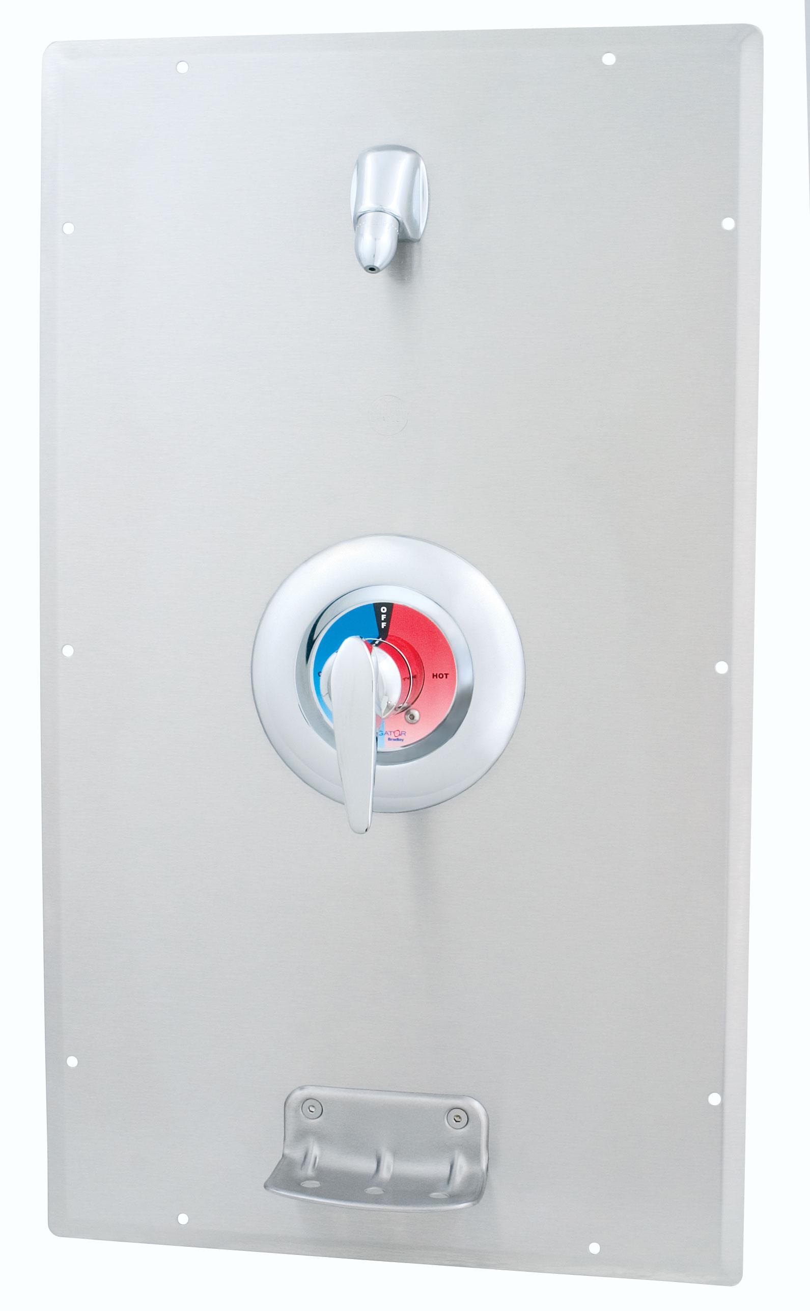 Individual Flush Mounted Wall Shower Bradley Corporation