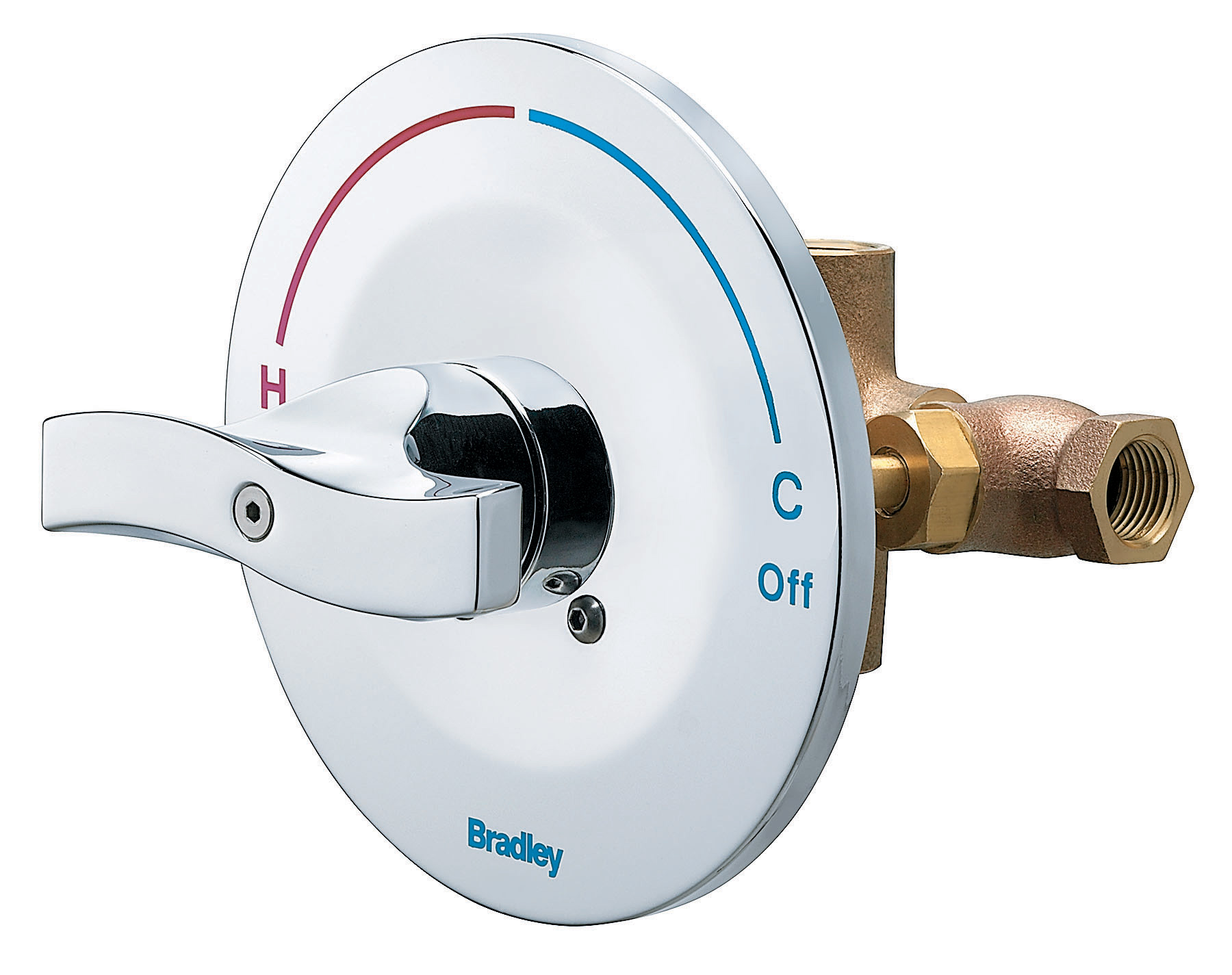 Equa flo c5 pressure balancing valve bradley corporation - Shower controls ...