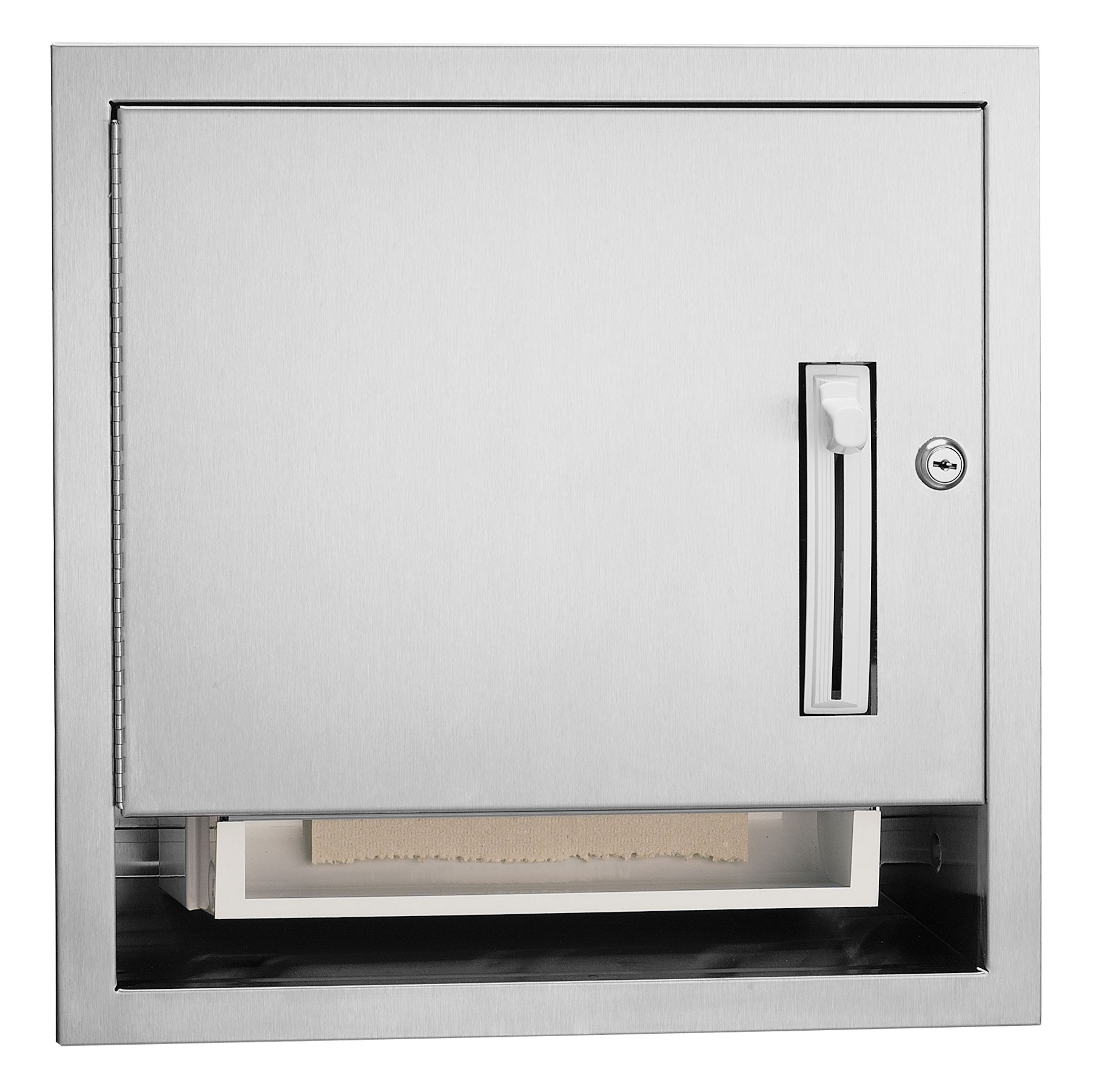 Framed Roll Towel Dispenser