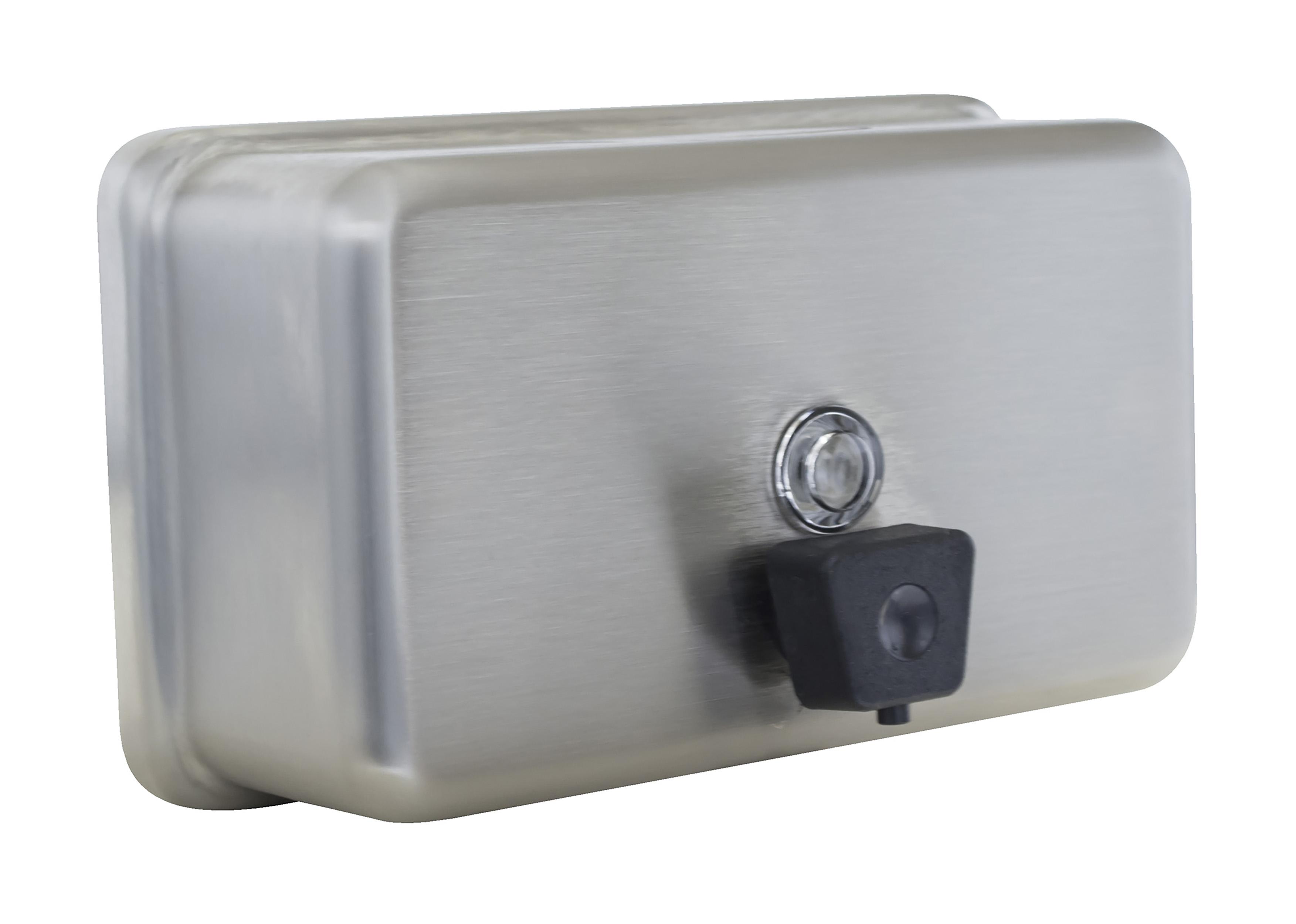 wallmounted horizontal tank soap dispenser